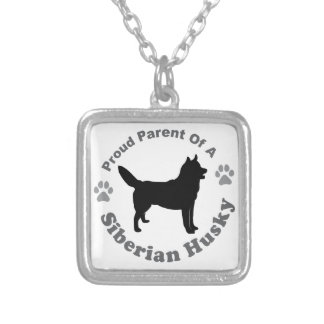 Siberian Husky Necklaces