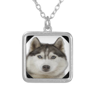 """Siberian Husky"" Necklace"