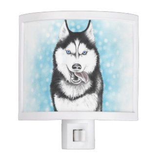 Siberian Husky Night Lite