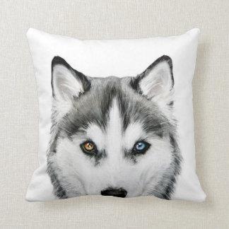 Siberian Husky original design pillow