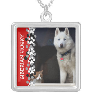 Siberian Husky Photo Custom Jewelry