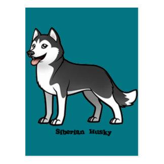 Siberian Husky Postcard