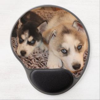 Siberian Husky Pup Mousepad