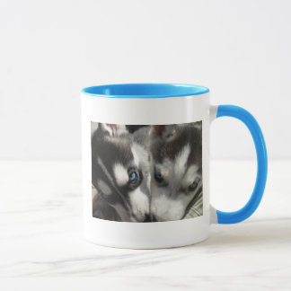 Siberian Husky Puppies mug