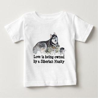 Siberian Husky & Puppies Toddler Unisex T-Shirt