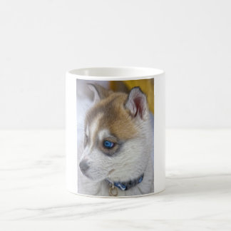 Siberian Husky Puppy 2 Coffee Mug