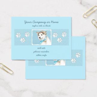 Siberian Husky Puppy Business Card