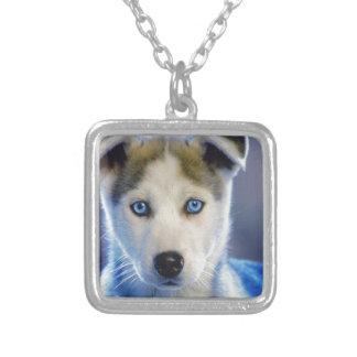 Siberian Husky Puppy Pendant