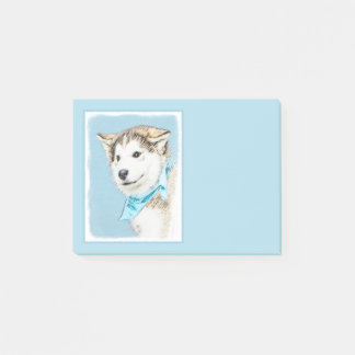 Siberian Husky Puppy Post-it Notes