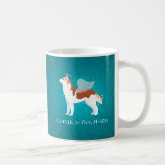 Siberian Husky - Red - Pet Memorial Design Coffee Mug