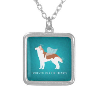 Siberian Husky - Red - Pet Memorial Design Pendant