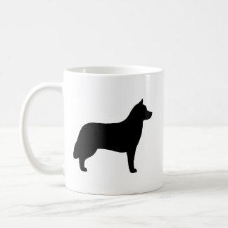 Siberian Husky Silhouettes Coffee Mug