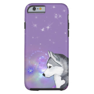 Siberian Husky Snowflake Phone Case Cover
