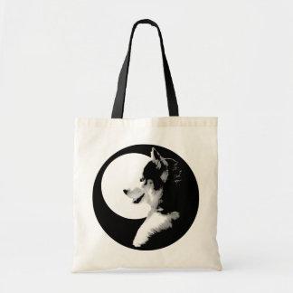 Siberian Husky Tote Bag Husky / MalamuteTote Bags