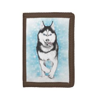 Siberian Husky Trifold Wallet