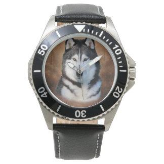 Siberian Husky Watches