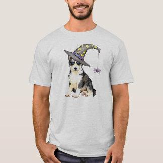 Siberian Husky Witch T-Shirt