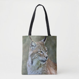 Siberian Lynx All Over Print Bag