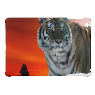 Siberian Sunset Tiger Animal-Lover Wildlife Art Cover For The iPad Mini