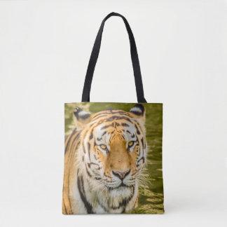 SIBERIAN TIGER ON TOTE BAG