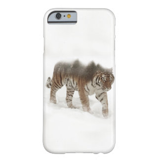 Siberian tiger-Tiger-double exposure-wildlife Barely There iPhone 6 Case