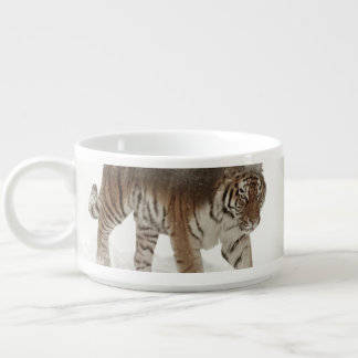 Siberian tiger-Tiger-double exposure-wildlife Bowl