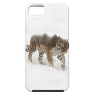 Siberian tiger-Tiger-double exposure-wildlife Case For The iPhone 5