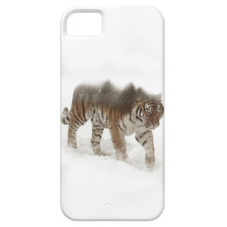 Siberian tiger-Tiger-double exposure-wildlife iPhone 5 Cases