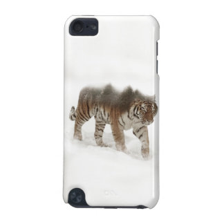 Siberian tiger-Tiger-double exposure-wildlife iPod Touch (5th Generation) Cases