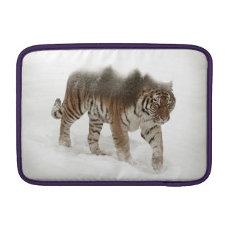 Siberian tiger-Tiger-double exposure-wildlife MacBook Air Sleeve
