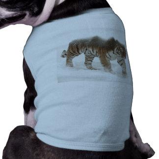 Siberian tiger-Tiger-double exposure-wildlife Shirt