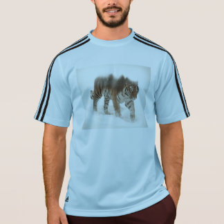 Siberian tiger-Tiger-double exposure-wildlife T-Shirt