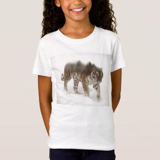 Siberian tiger-Tiger-double exposure-wildlife T-Shirt