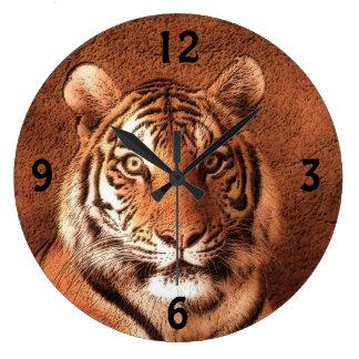 Siberian Tiger - Wall Clock