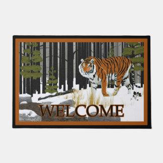 Siberian Tiger - Welcome Doormat