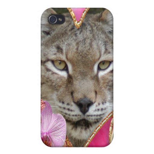 Sibérien Lynx Coque iPhone 4/4S