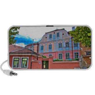 Sibiu architecture iPhone speaker
