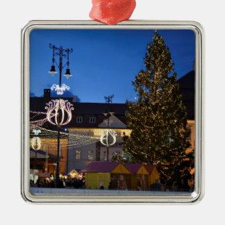Sibiu Christmas tree Metal Ornament
