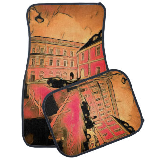 Sibiu painting car mat
