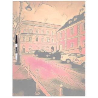 Sibiu painting dry erase board