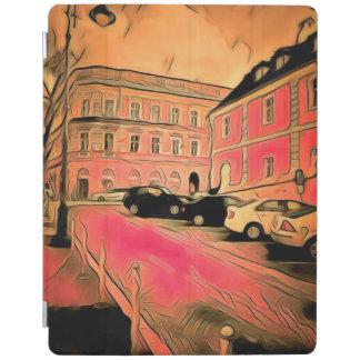 Sibiu painting iPad cover