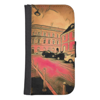 Sibiu painting samsung s4 wallet case