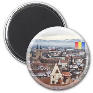 Sibiu panorama magnet