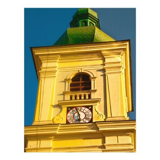 Sibiu tower flyer