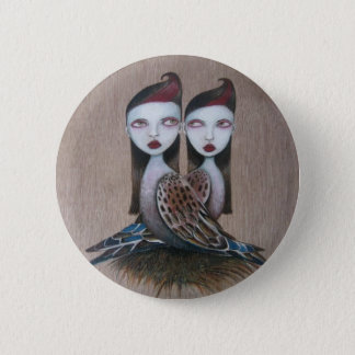 Sibling Rivalry 2 Inch Round Button
