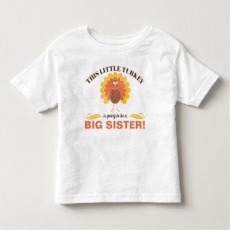 Sibling Thanksgiving Pregnancy Announcement Shirt