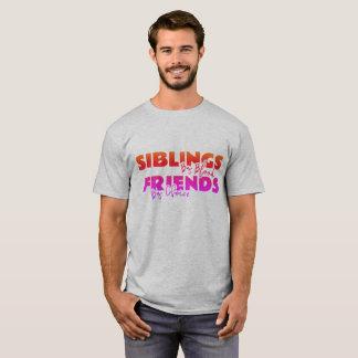 Siblings-Friends' t-shirt - Multi color print