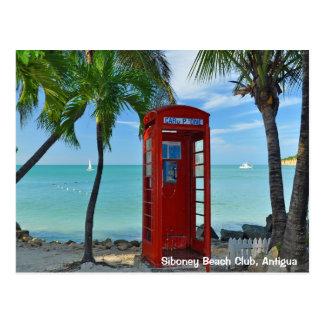 Siboney Beach Club, Antigua Postcard