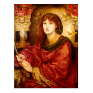Sibylla Palmifera by Dante Gabriel Rossetti Postcard