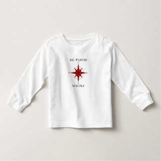 Sic Parvis Magna Toddler Long Sleeve T-Shirt